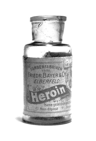 Bayer Heroin Fläschchen