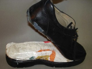 Kokain-Schuh